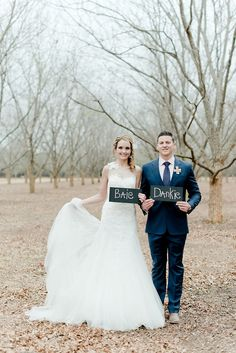 Wedding Photo Idea for your Thank You Card - Dreamy Blush and Neutral South African Wedding by Louise Vorster Photography as seen first on ConfettiDaydreams.com #SouthAfrican #wedding South African Real Wedding
