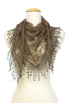 Dressing Your Truth - Type 2 My Love Scarf in Khaki.  Love it!