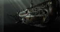 Pierre Matter - Scupltures extreme... Steampunk #steampunk