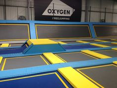 Exclusive: we bounced at London's first trampoline park Giant Water Slide, Water Slides, Indoor Trampoline, Trampoline Park, Trampolines, Magic Memories, London Places, Toddler Play, Indoor Playground