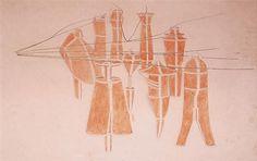 Marcel Duchamp - Cemetery Of Uniforms & Liveries No. 2, 1914