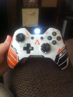 My very own Titanfall controller! Got this bad boy @ the Titanfall UK beta event I was invited to in London, England on Feb. 8, 2014!