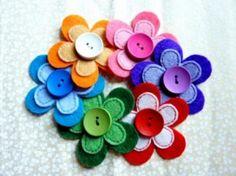 FLORES  de botones                                                                                                                                                                                 Más