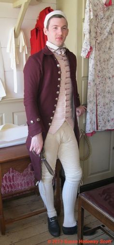Two Nerdy History Girls: More About Buckskin Breeches. Susan Holloway Scott reports from Colonial Williamsburg