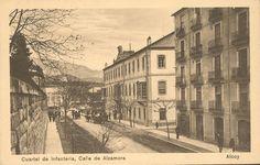 Alcoy. Cuartel de Infantería. Calle Alzamora. (Nake)