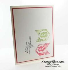 Stampin Up! Oh, Hello stamp set