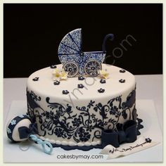 Baby Shower cake by Cakes by Maylene
