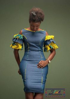 Short African Dresses, Latest African Fashion Dresses, African Print Dresses, African Print Fashion, Ankara Dress Styles, African Prints, Short Dresses, Ankara Stil, Style Outfits