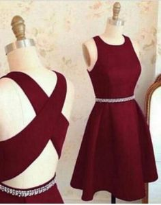 Lovely Cute Prom Dresses,Short Prom Gown,Burgundy Homecoming Dresses,Burgundy Prom Dresses,Prom Party Dresses,Sweet 16 Dress,A line Prom Dress,H045