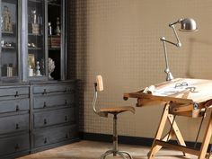 CASADECO, editor of wallpaper and upholstery fabrics Of Wallpaper, Drafting Desk, Innovation, Upholstery, Texture, Modern, Fabric, Empire, Furniture