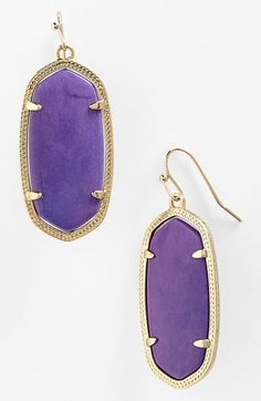 Kendra Scott earrings come in an array of stones, most real stones! They flatter any face and come with a price tag one can afford! LOVE