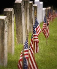 """""""From the Civil War to World War I to World War II to Korea to Vietnam, each generation served and died. The flags at the cemetery bear witness. Sadly, we're currently amid a period when we'll observe a palpable increase in the flags at the cemetery. It's a process that's irreversible. There's nothing we mere mortals can do about it. But there is something you can do. When you see these men, talk to them. Listen to them, enjoy them, remember them."""""""