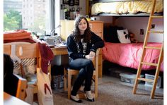 How To Survive In A Tiny Dorm Room With Two Roommates