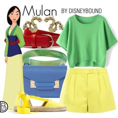 Disney Bound - Mulan