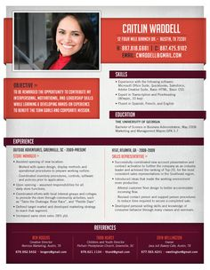 Resume Template | Sunday Plan Maroon – Loft Resumes