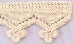 O margine fina ce poate fi utilizata la finisarea artiolelor tricotate pentru copii.