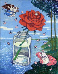 Not the birth of Venus by Botticelli, but so much better Pretty Art, Cute Art, Illustrations, Illustration Art, Wow Art, Art Hoe, Hippie Art, Image Hd, New Wall
