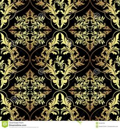 damask fabric abstract - Google Search