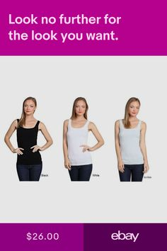 M-Rena High Quality Extra Soft Scoop Neck Seamless Tank Top. One size 44423e12d