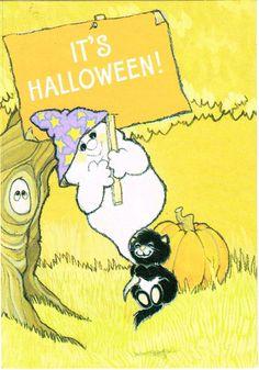 Vintage Ambassador Halloween Card