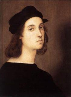 Raphael- (Born 1483, Urbino, Italy-Died 1520, Rome, Italy) -self portrait