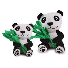Zanies Plush and Felt Prosperity Panda Dog Toy Large ** Want to know more, click on the image.(This is an Amazon affiliate link and I receive a commission for the sales)