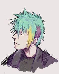 Clavis -- Not going to lie, I love his hair.