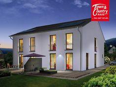 Neu bei Town & Country Haus: Das #Doppelhaus Aura 125. Mehr Infos hier: http://www.hausausstellung.de/doppelhaus-aura-125-massivhaus.html #Stadthaus #Massivhaus