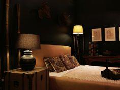 Sypialnia podróżnika  INNE MEBLE -- meble, kanapy tapicerowane, dekoracje, oświetlenie, lampy Lighting, Home Decor, Homemade Home Decor, Decoration Home, Light Fixtures, Room Decor, Interior Design, Lightning, Home Interiors