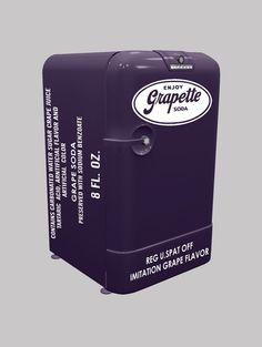 Mini Icebox Grapette • Designed by Cia Vintage