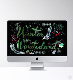 Festive and free desktop wallpapers for December - Think.Make.Share.                                                                                                                                                                                 More