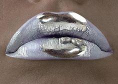 { silver lips }