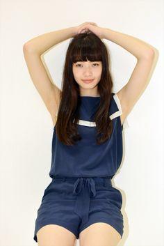 Japanese Model, Cute Japanese, Japanese Beauty, Asian Beauty, Beautiful Young Lady, Beautiful Little Girls, Cute Girls, Komatsu Nana, Cute School Uniforms