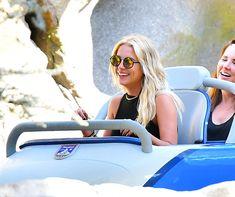 Ashley Benson seen as she enjoyed with her pals in Disneyland Round Sunglasses, Mirrored Sunglasses, Ashley Benson, Celebs, Celebrities, Pretty Little Liars, Disneyland, Personal Style, Beautiful Women