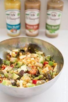 Salade de lentilles corail & vinaigrette Tourangelle [Résultat Concours]