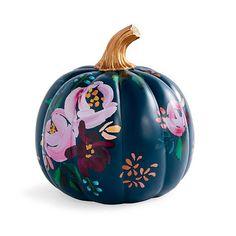 Black Pumpkin, Spooky Pumpkin, Pumpkin Art, Cute Pumpkin, Pumpkin Carving, Pumpkin Painting, Pumpkin Ideas, Carving Pumpkins, Faux Pumpkins