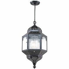 Shop for Indoor/ Outdoor Bronze Pendant. Get free delivery On EVERYTHING* Overstock - Your Online Outdoor Lighting Store! Outdoor Pendant Lighting, Outdoor Ceiling Lights, Moroccan Lighting, Lighting Sale, Patio Lighting, Home Lighting, Pendant Lights, Pendant Lamp, Bronze Pendant