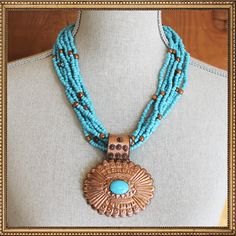 The Lucky Cowgirl Gifts Under $25. TheLuckyCowgirlShop.com #xmas #western #cowgirl  El Paso Necklace #4