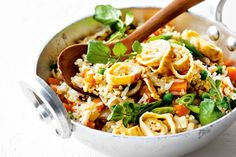 This modern take on classic fried rice is a fun, tasty way to get your daily serves of veg.