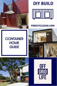 Introduction to Designing a Shipping Container House house Building Code, Building Plans, Building A House, Building A Container Home, Container House Design, Shipping Container House Plans, Building Department, House Blueprints, Aesthetic Design