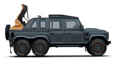 Kahn Design Flying Huntsman 6x6 Soft-Top: Because why the hell not? - Autoblog