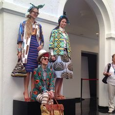 stellajean models in Cotton to Catwalk #fashionshow in #Geneva with…