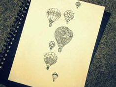 Hot Air Balloon Tattoo Meaning-Tatoos Design, balloon, meaning, tatoo
