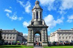 Universidade Trinity College, em Dublin - Foto: Ticiana Giehl e Marquinhos Pereira/Escolha Viajar