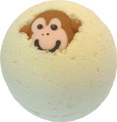 Funky Monkey Bath Bomb by MountainMadnessSoap on Etsy https://www.etsy.com/listing/95977208/funky-monkey-bath-bomb