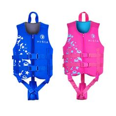 HISEA Boys Girls Swimming F... Life Jackets, Kid N Teenagers, Girls Swimming, Rowing, Cute Cartoon, Little Ones, Boy Or Girl, Pattern Design, Baby Kids