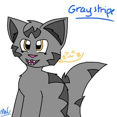 Graystripe for the newest contest! I hope you like it!-Minecraft WarriorCat