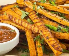 Baked Sweet Potato Fries that are Actually Crispy – and Gluten Free!