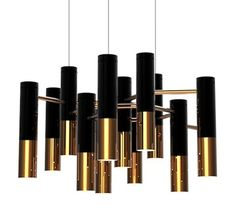 Ike Suspension Light from Carlyle Collective