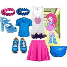 """""""Pinkie Pie - Human"""" by catloverd on Polyvore"""